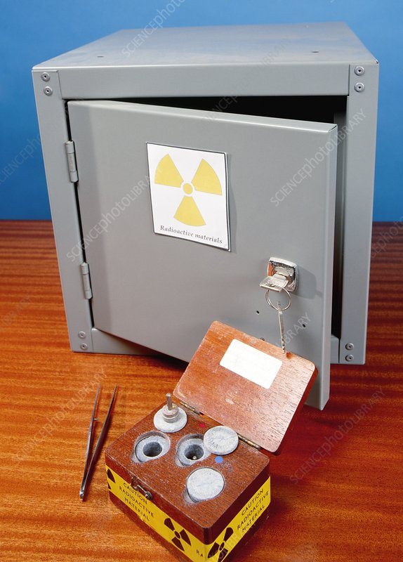 Radioactive sources and storage