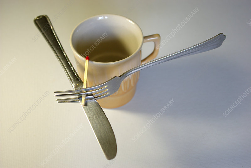 Balanced Knife and Fork