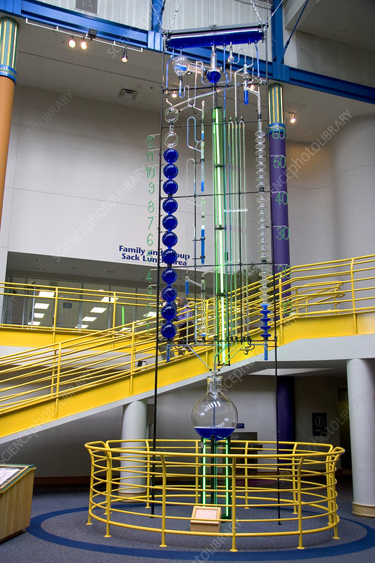 'Water Clock, Children's Museum of Indianapolis'
