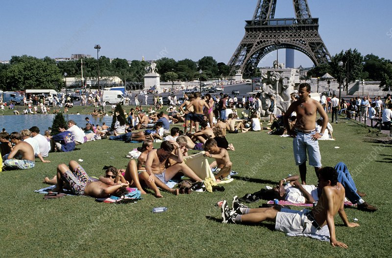 Heat wave, Paris
