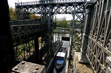 Historical hydraulic boat lifts, Belgium