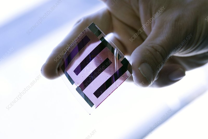 Plastic photovoltaic cell