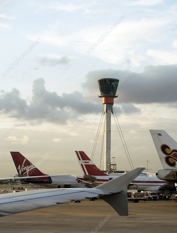Air traffic control tower, UK