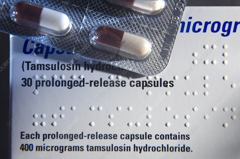 Braille markings on drug packet