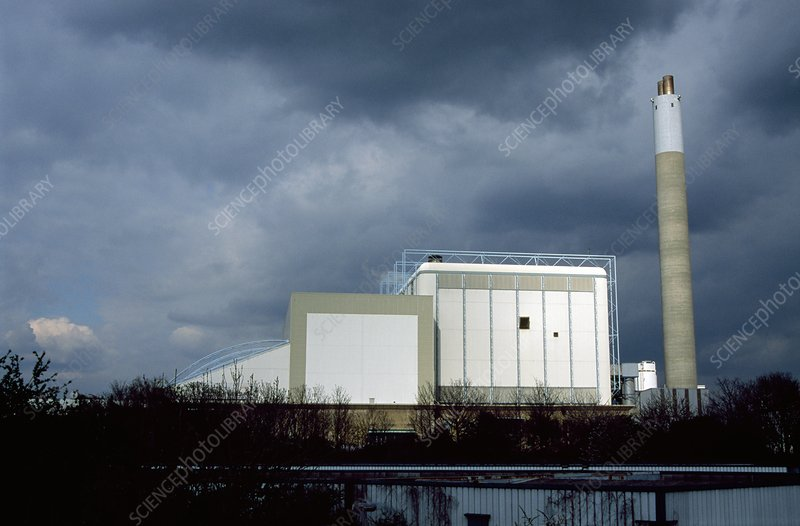 Waste to energy facility, London