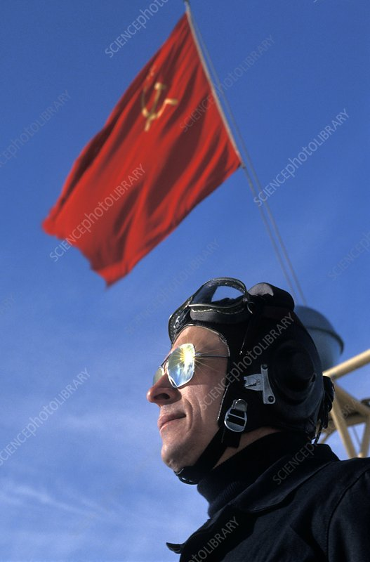 Russian helicopter pilot