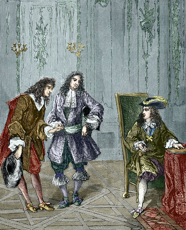 Giovanni Cassini and King Louis XIV