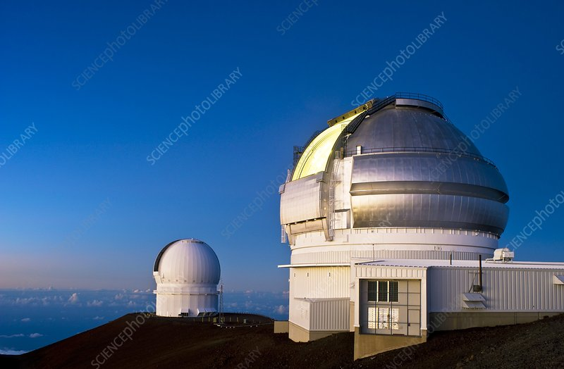 Gemini North telescope, Hawaii