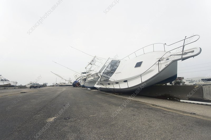 Hurricane Ike damage, 2008