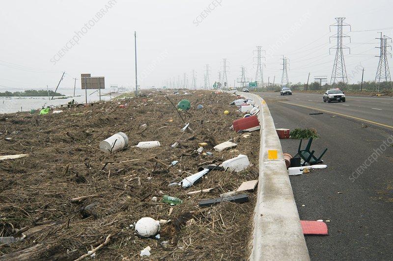 Hurricane Ike damage, 2008