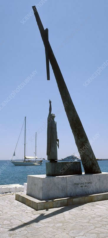 Monument to Pythagoras of Samos