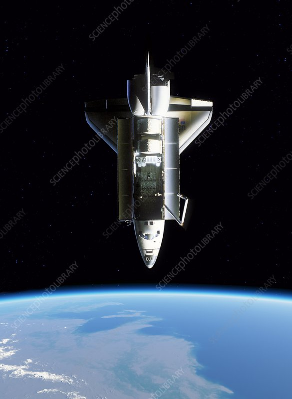 Space Shuttle Challenger, artwork