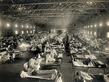 Flu ward, USA, 1918