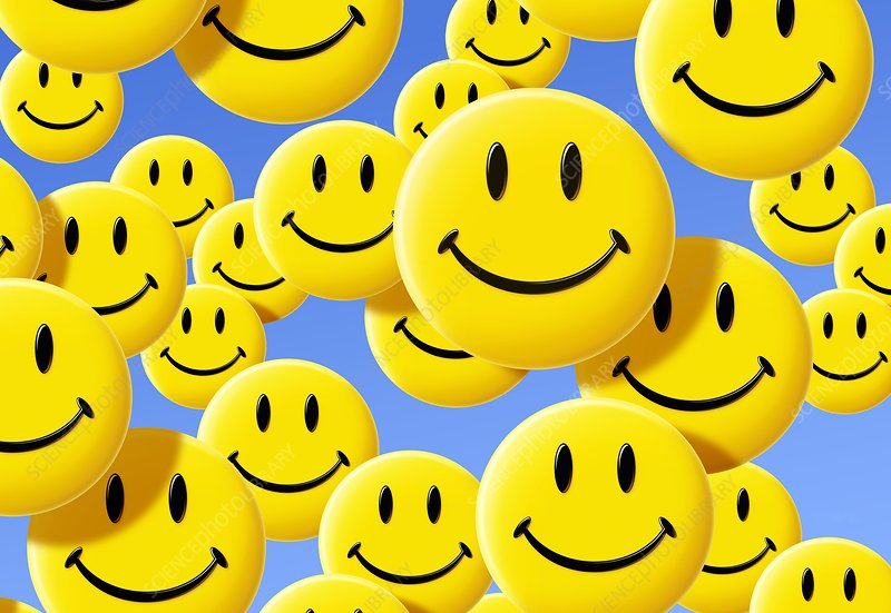 Smiley Face Symbols Stock Image C0021247 Science Photo Library