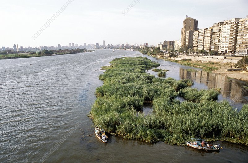 River Nile at Cairo, Egypt