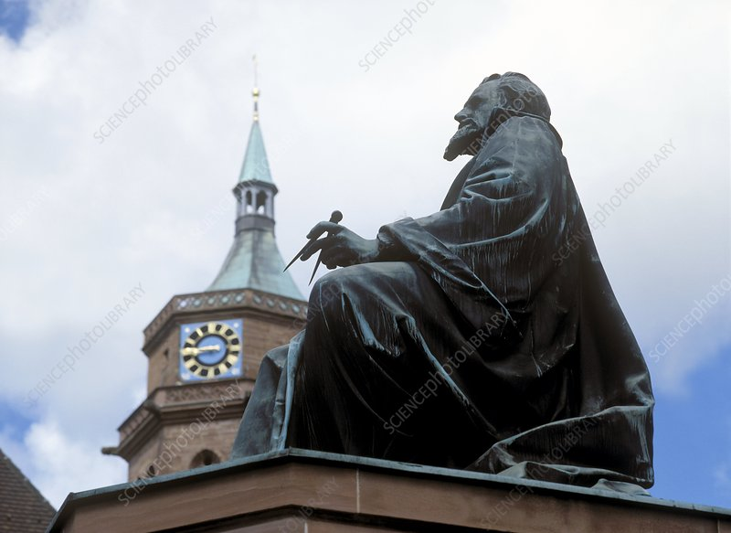 Johannes Kepler monument, Germany