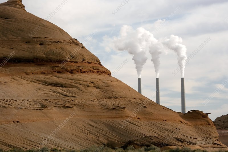 Navajo power station, Arizona, USA