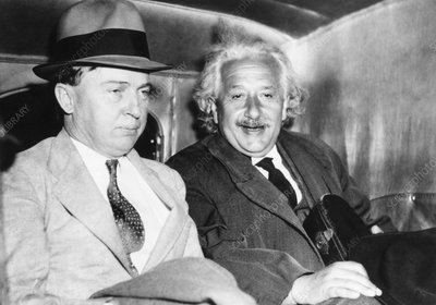 Albert Einstein and Harlow Shapley