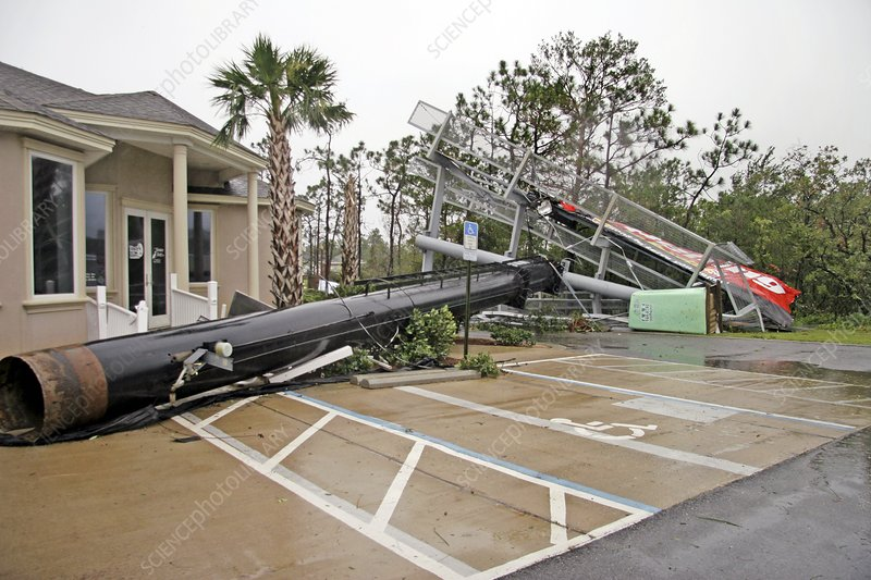 Hurricane Dennis damage, 2005