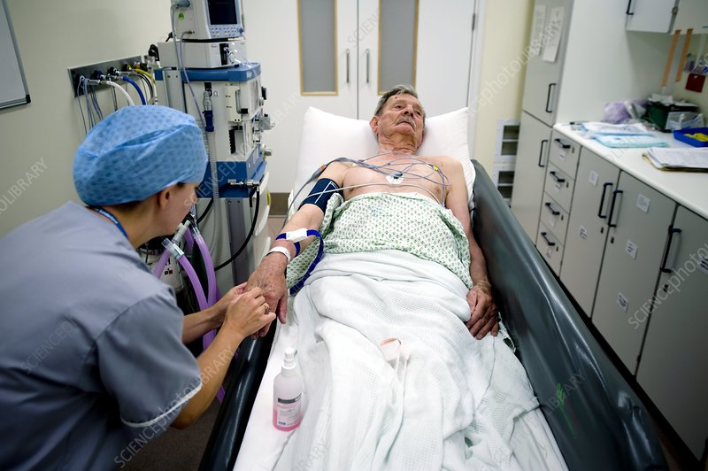 Anaesthetising a patient