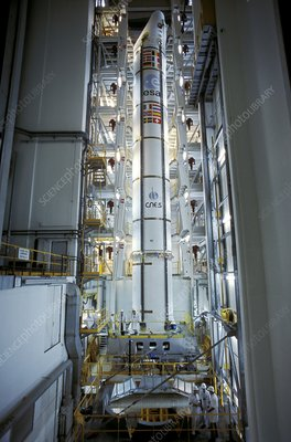 Ariane 5 booster rocket