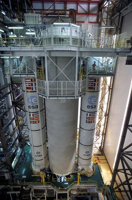Ariane 5 rocket assembly