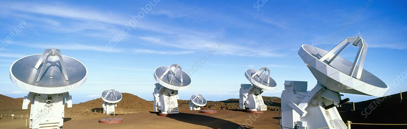 Submillimeter Array telescopes, Hawaii
