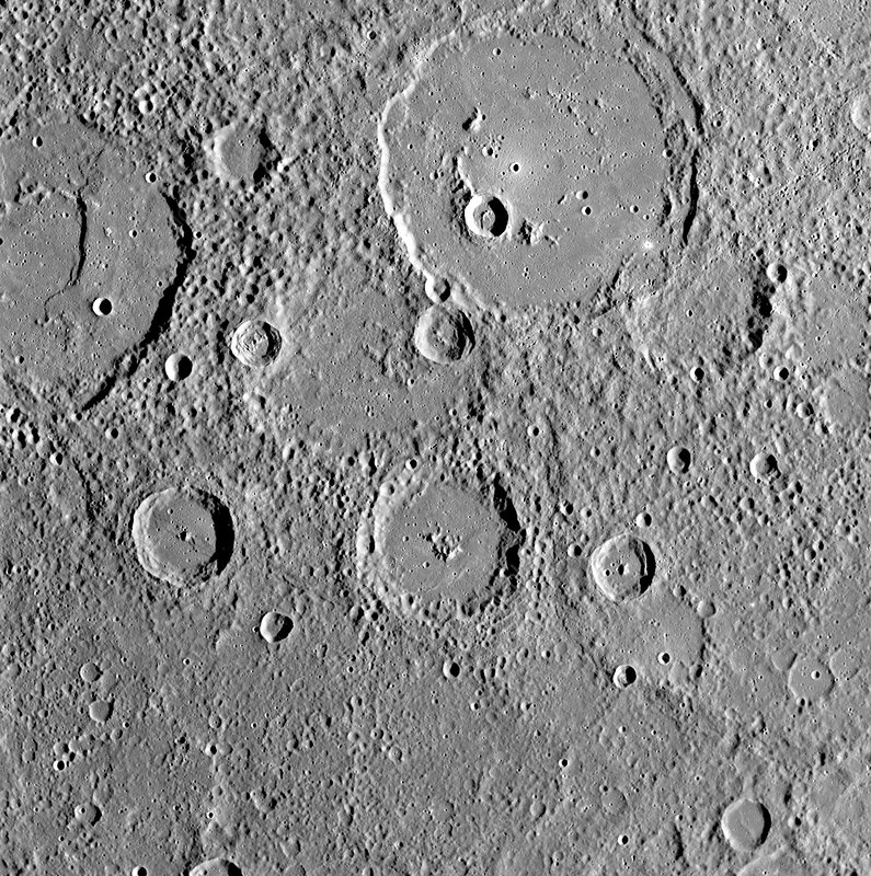 Mercury, MESSENGER October 2008 flyby