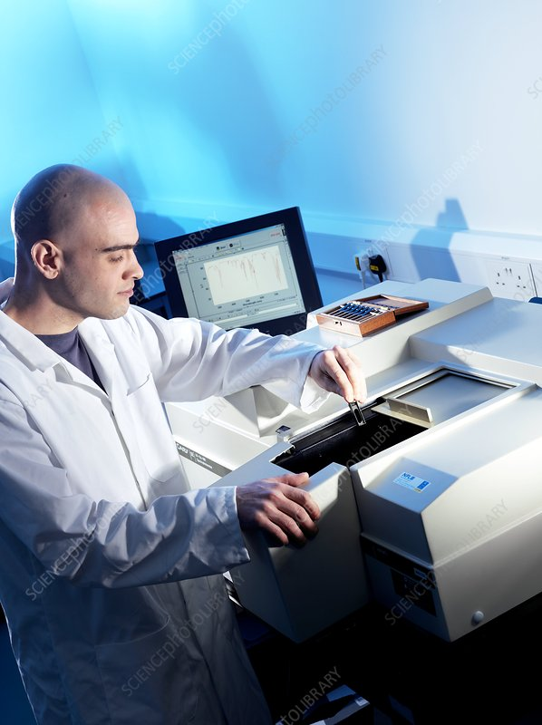 Spectrophotometry research