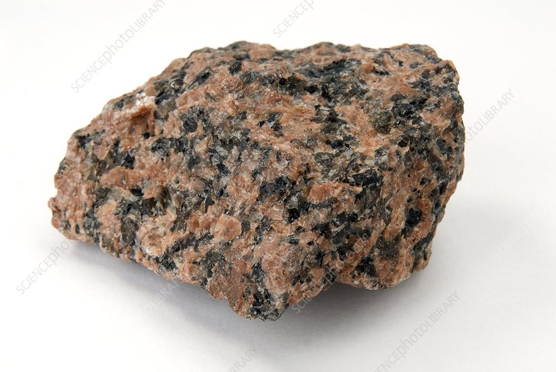 Sample of granite