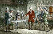 Lavoisier's experiment on air, 1776