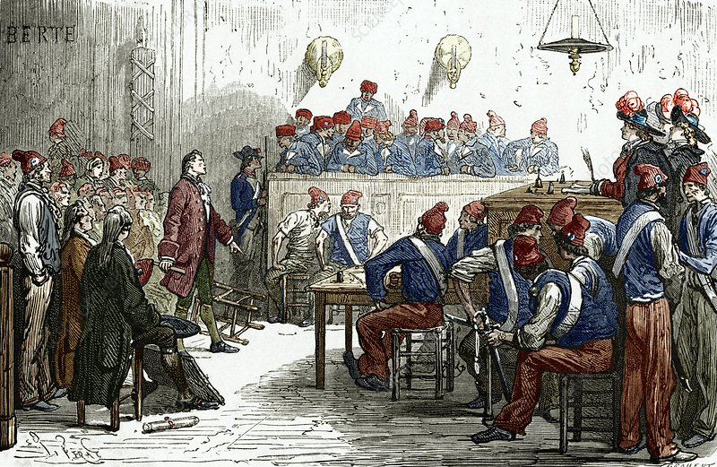 Lavoisier's trial, 1794