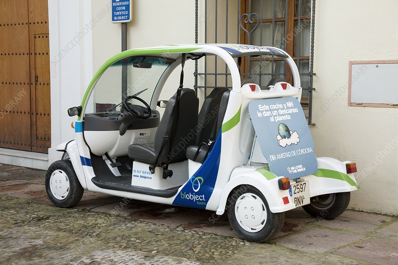 Electric tourist car, Spain