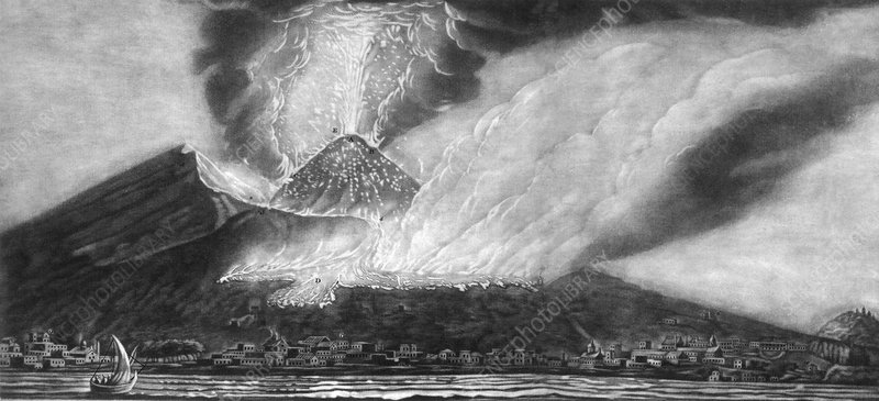 Volcanic formation, 1767