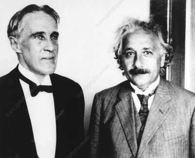 Robert Wood and Albert Einstein