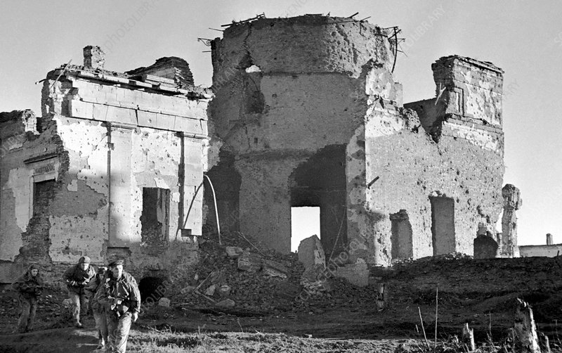 Pulkovo Observatory in World War II