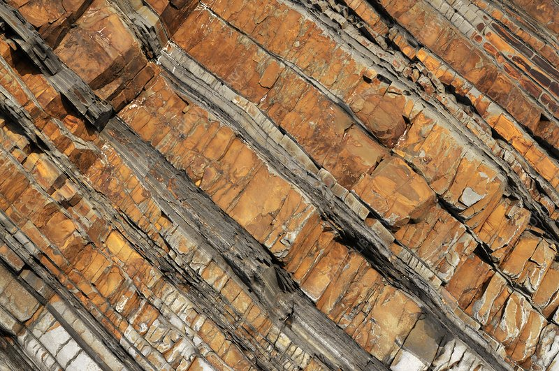 Carboniferous rock layers