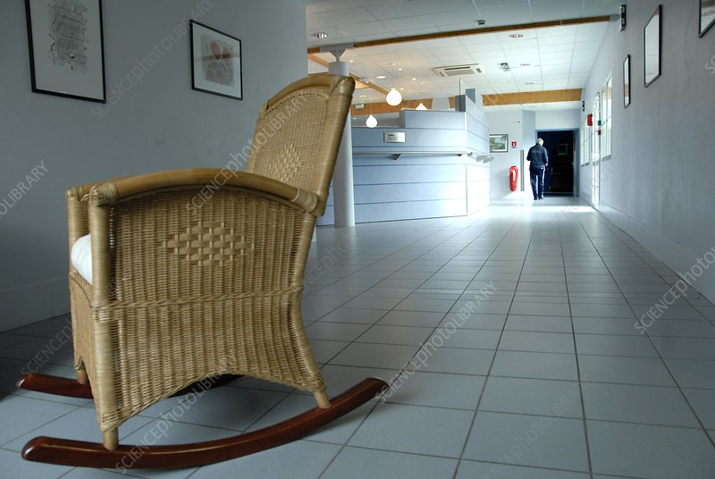 Rocking chair in a care home