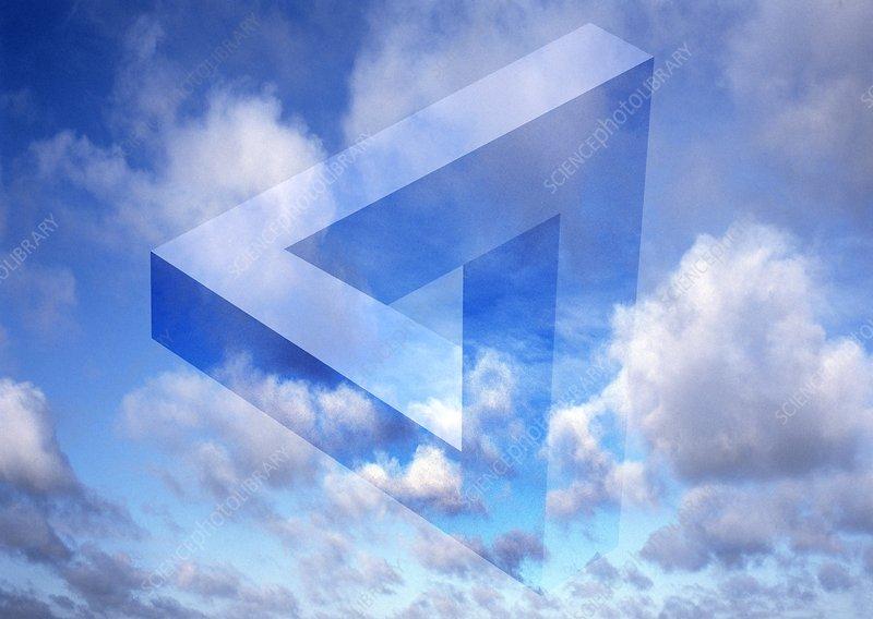 Alternate dimensions, conceptual artwork