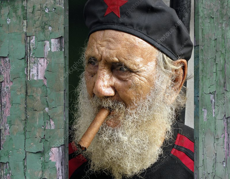 Cuban man with a cigar