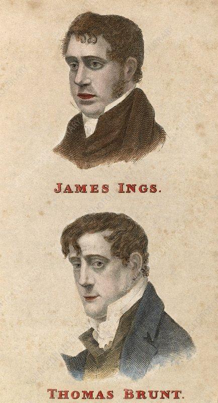 Ing and Brunt, British conspirators
