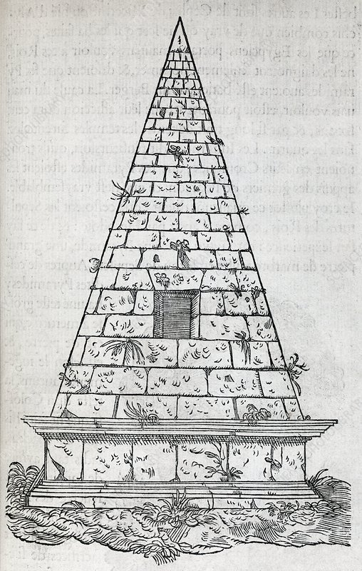 Pyramid, 16th century artwork