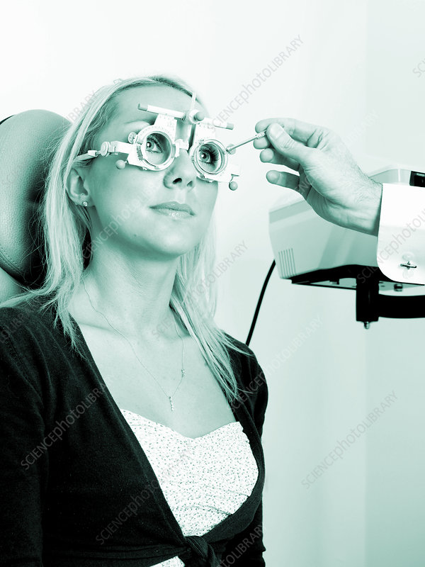 'ophthalmology, woman'