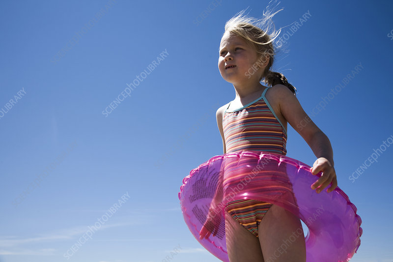 Child at the seaside