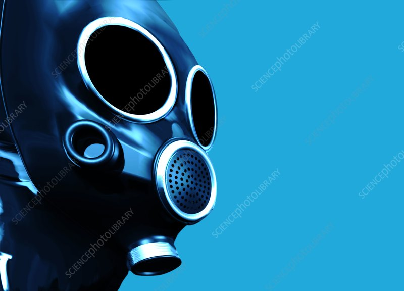 Gas mask, artwork