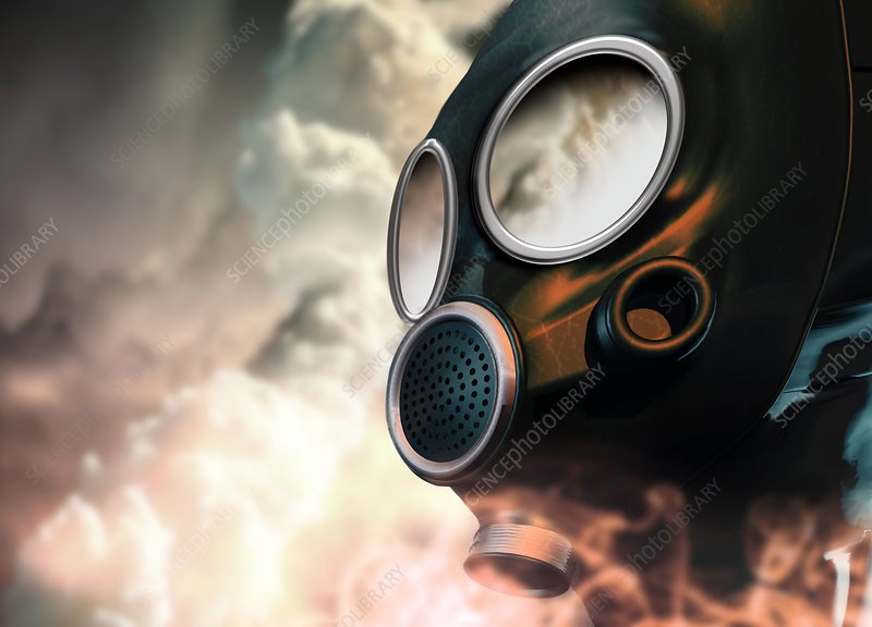 Chemical warfare, conceptual artwork