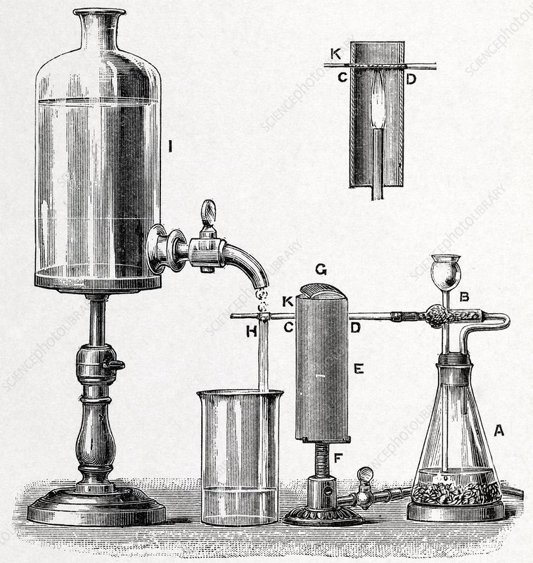Arsenic detection, 19th century artwork
