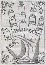 Harmonious hand, 17th century artwork