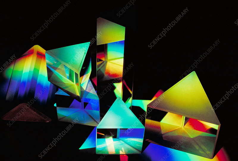 Light spectrum and prism