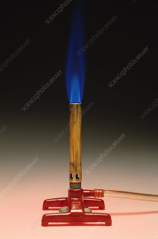 Bunsen Burner and Flame